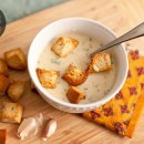 Austrian Garlic Soup