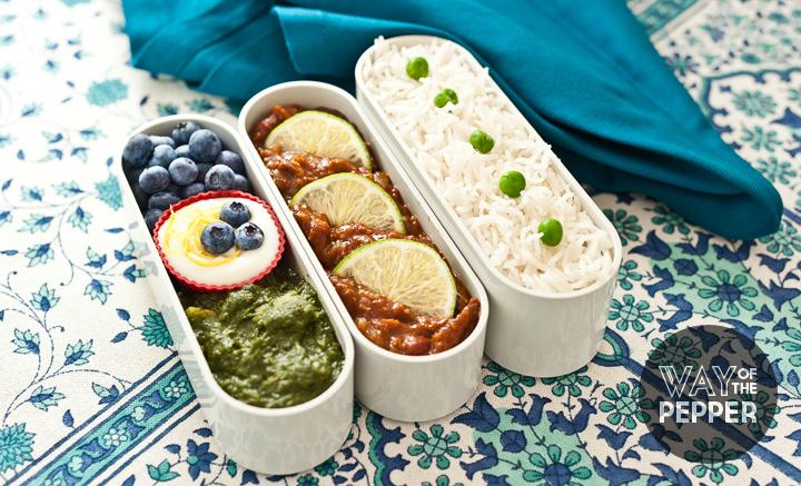 Bento: Rajma and Rice
